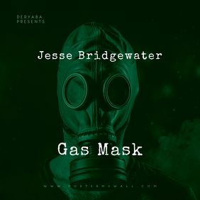 Gas Mask CD Cover Art Template
