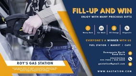 Gas Station Giveaway Ad Digital Display Ad