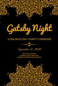 Gatsby Night Poster Template