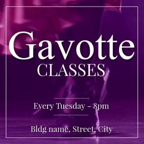 Gavotte tap dance classes