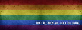 Gay Pride Facebook Cover Photo template