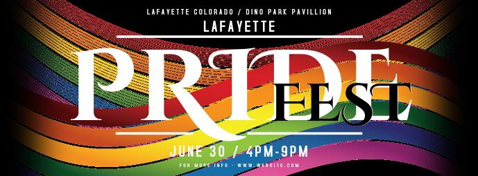 Gay Pride Facebook-coverfoto template