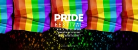 GAY PRIDE FESTIVAL 5 Flags