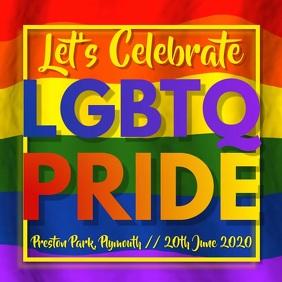Gay Pride Festival Video Template Cuadrado (1:1)