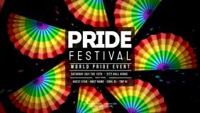 GAY PRIDE Rainbow Fans