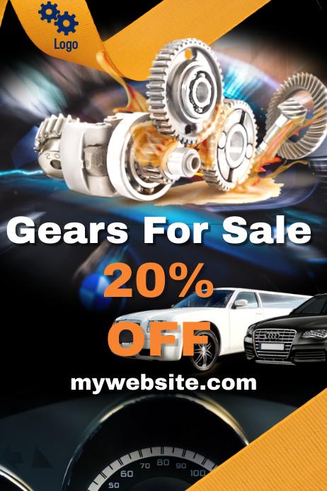 Gear sale Template