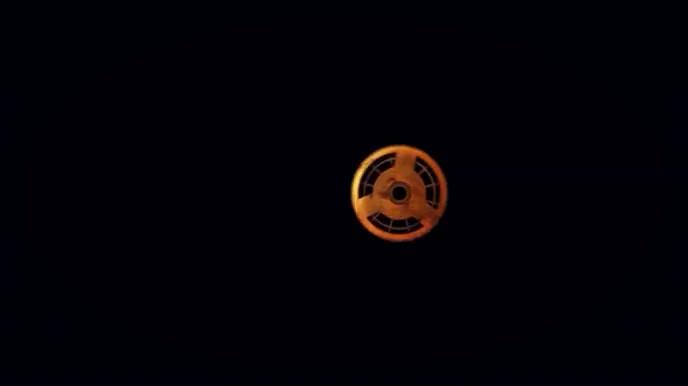 Gears logo intro Tampilan Digital (16:9) template