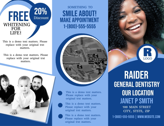 General Dentistry Flyer (US Letter) template