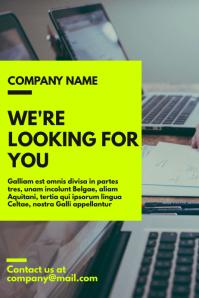 Generic hiring poster business