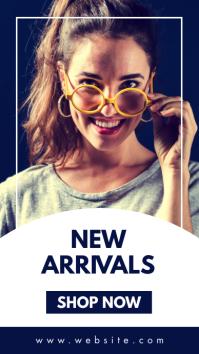 generic new arrivals instagram story advertis