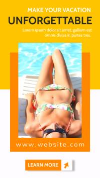 generic travel agency advertisement Indaba yaku-Instagram template