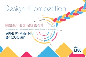 Design competition Label template