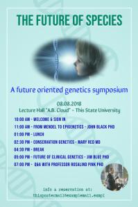 Genetics science poster