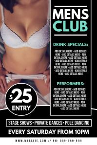 Gentlemans Club Poster