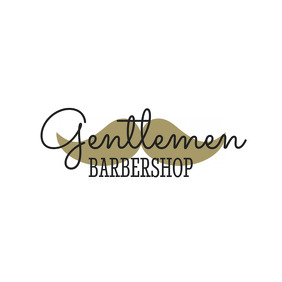 Gentlemen Barbeshop Logo
