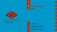 Geometric Business Card Carte de visite template