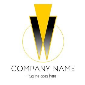 geometric logo or company icon