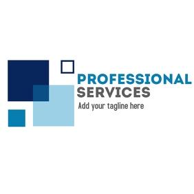 Geometric logo professional services