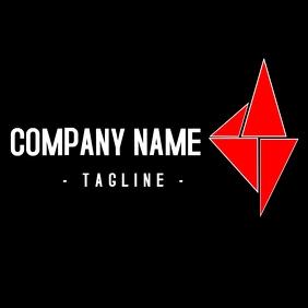 Geometric triangular logo