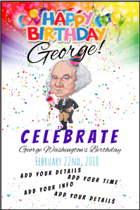 George Washington Birthday President National Legal Holiday