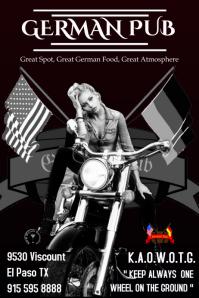 German Pub Bike night