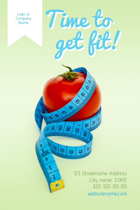 Get fit! Poster