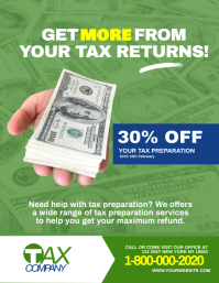 Get More: Tax & Consulting Services Flyer