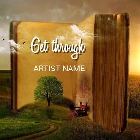 Get through Portada de Álbum template