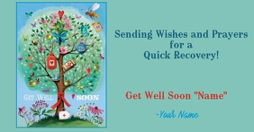 get well 10 Facebook Shared Image template
