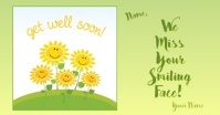 get well 3 Facebook Shared Image template