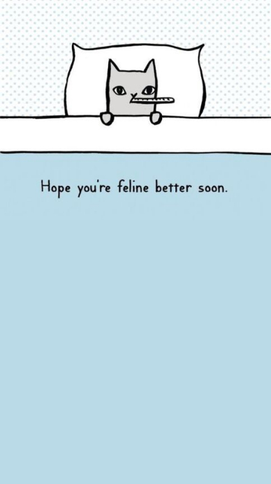 Get well soon Instagram Story template