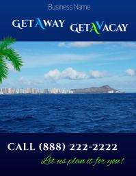 GetAway Travel Poster