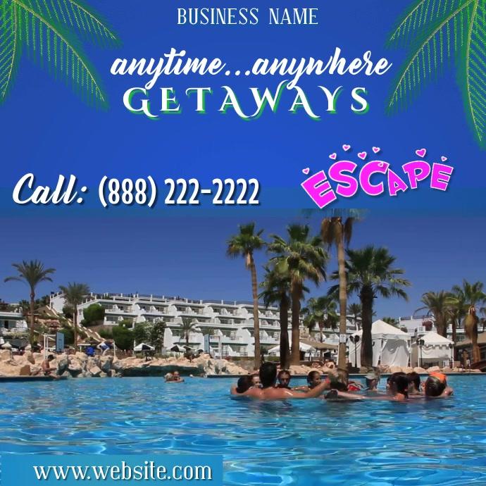 Getaways Digital Ad
