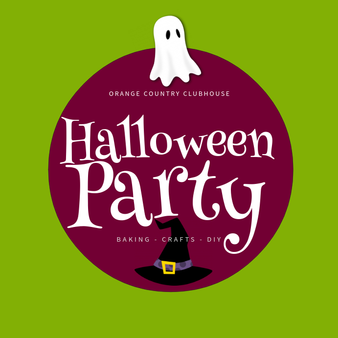 Ghost Halloween Instagram Template