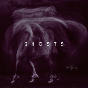 Ghost Music CD Cover Art Template Albumcover