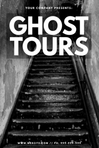 Ghost Tours Poster