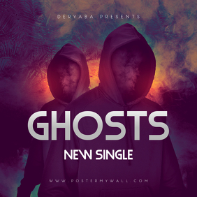 Ghosts CD Cover Template