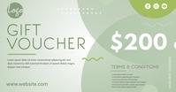 Gift Boucher Template Imagen Compartida en Facebook