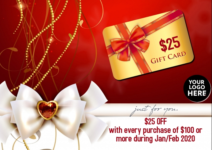 Gift Card Just for You