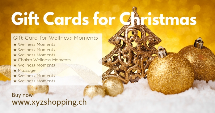 Gift Cards Offer Christmas Give Away Voucher