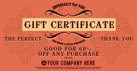 Gift Certificae