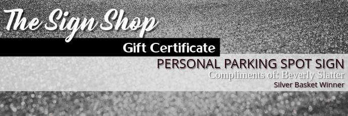 Gift Certificate Tajuk Twitter template