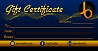 Gift Certificate Printable Template Изображение, которым поделились на Facebook