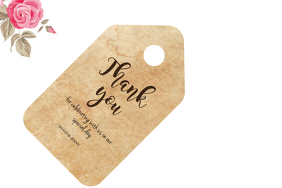 gift tag template Label