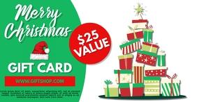 Gift Voucher Christmas Template