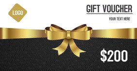 Gift voucher coupons