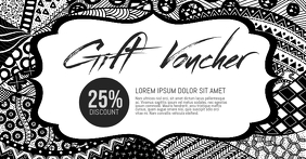 Gift Voucher Facebook Shared Image template