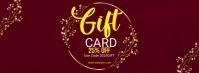 Gift Voucher Facebook Cover Photo Facebook-Cover template