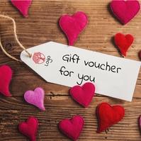 gift voucher for you Instagram-Beitrag template