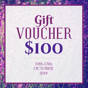 Gift Voucher Instagram